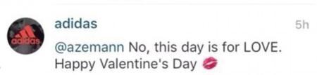 Respuesta de adidas a comentarios de homofobia en su cuenta de Instagram