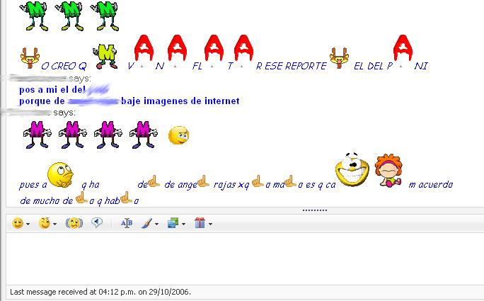 iconos en messenger caras emojis