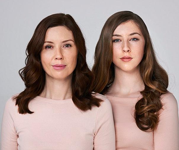 Madre e hija idénticas (4)