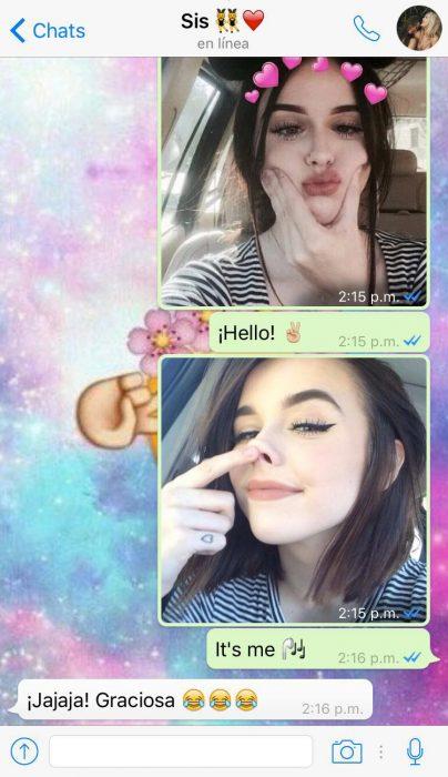 Mensajes de hermanas hello it's me