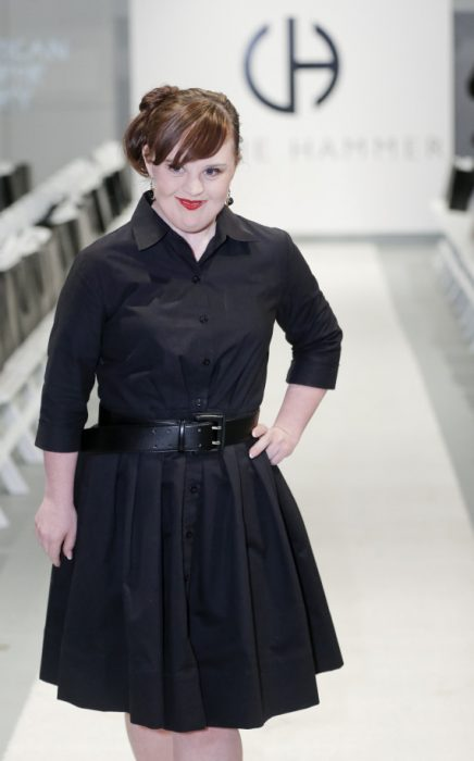 Jamie Brewer primer modelo con síndrome de Down