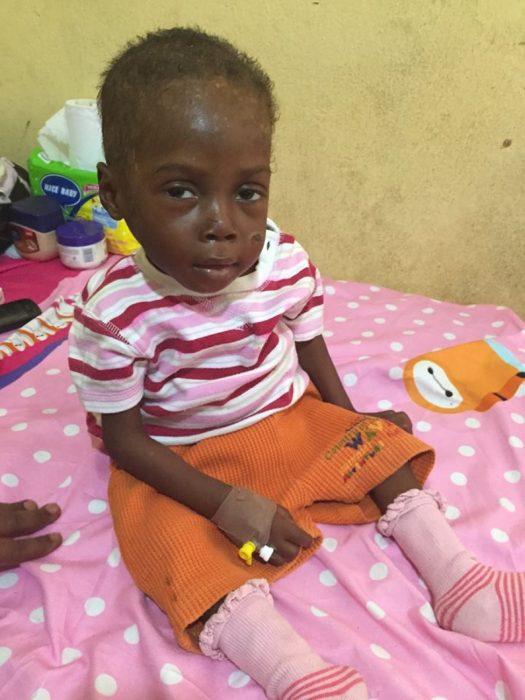 Hope el niño que fue rescatado