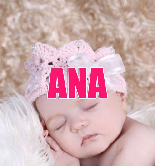 Nombres de niña que serán tendencia en 2016 Ana