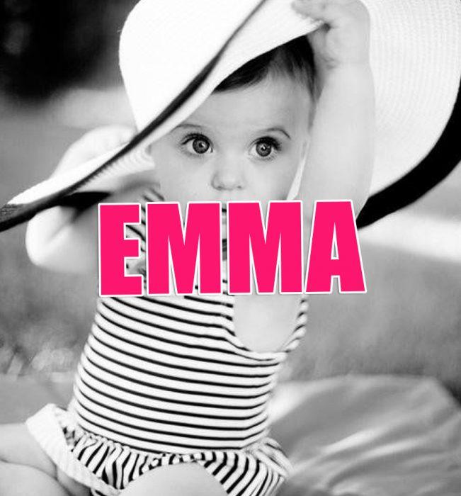 Nombres de niña que serán tendencia en 2016. EMMA