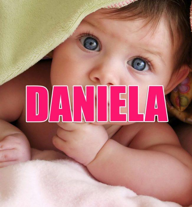 Nombres de niña que serán tendencia en 2016. DANIELA