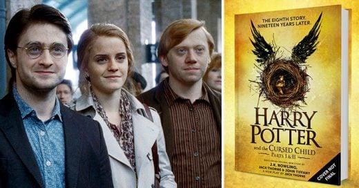 Nuevo libro de harry potter