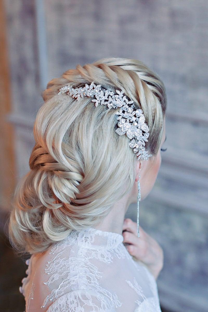 Bonito y cómodo peinados invitada boda Galeria De Cortes De Cabello Estilo - 25 Hermosos peinados para el día de tu boda ¡Te encantarán!