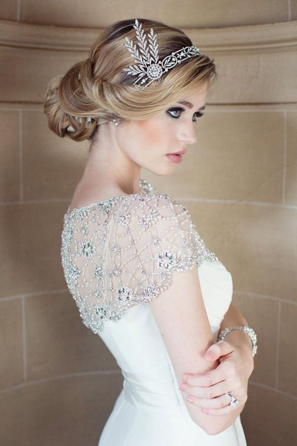 25 hermosos peinados para el d a de tu boda te encantar n - Como hacer peinado para boda ...