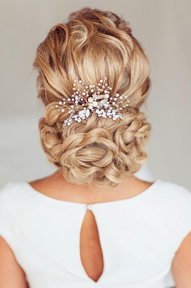 25 Hermosos Peinados Para El Dia De Tu Boda Te Encantaran