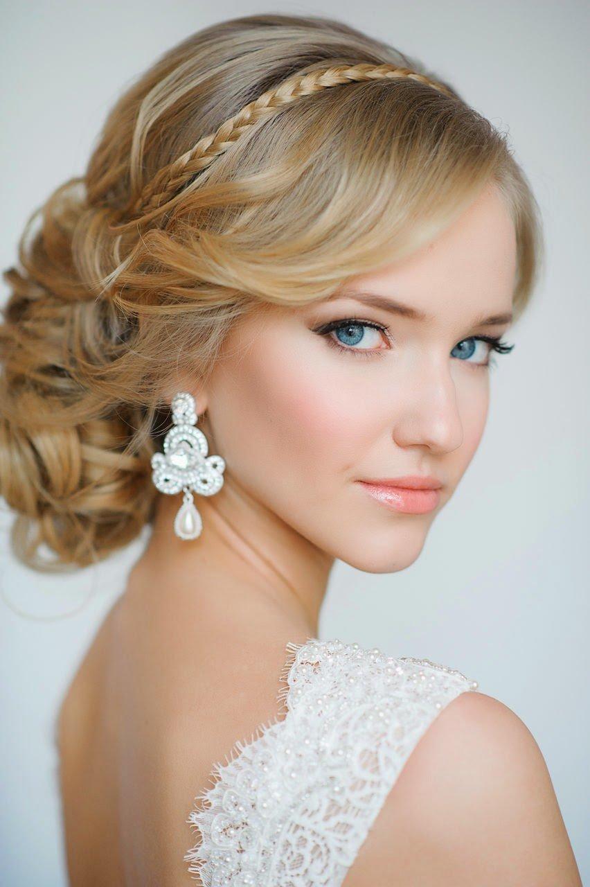 25 hermosos peinados para el d a de tu boda te encantar n for Recogidos altos para novias