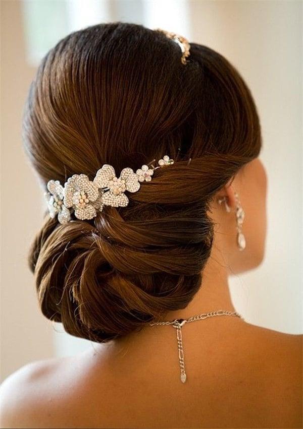 Peinados recogidos para boda
