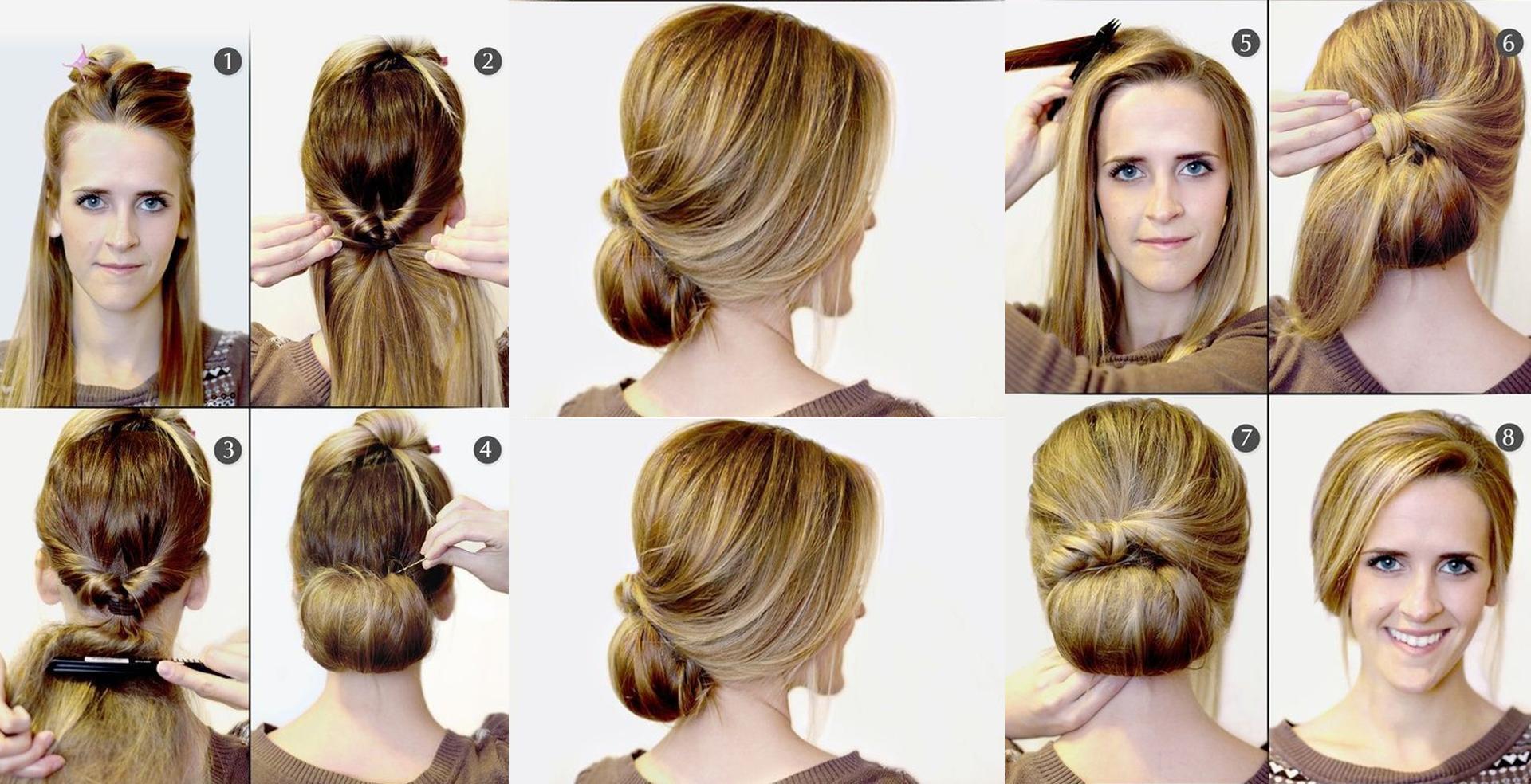 si buscas algo sumamente elegante este peinado es para ti