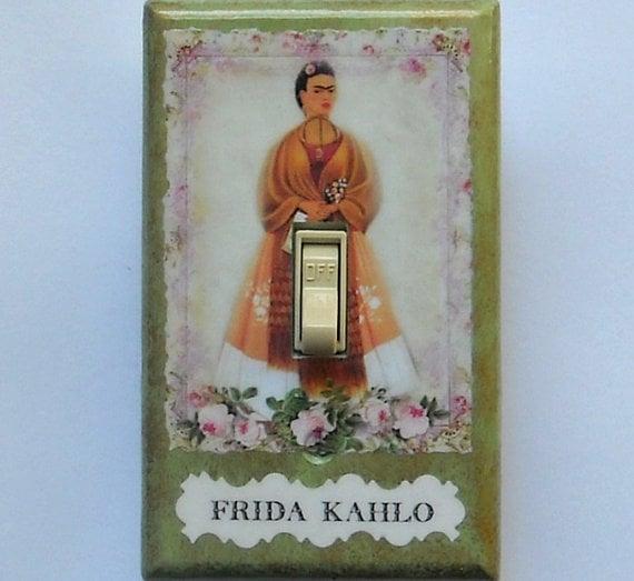 tapa del apagador de luz de Frida Kahlo