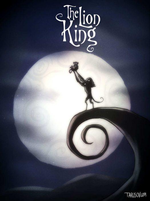 Si las películas de Disney las hubiera hecho Tim Burton (11)
