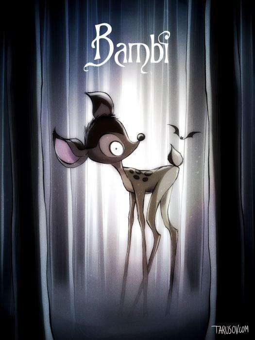 Si las películas de Disney las hubiera hecho Tim Burton (12)