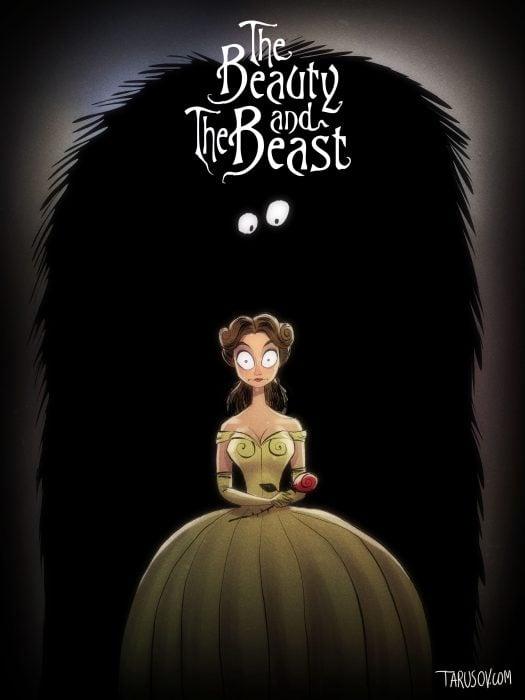 Si las películas de Disney las hubiera hecho Tim Burton (13)