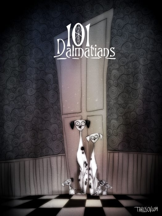 Si las películas de Disney las hubiera hecho Tim Burton (17)
