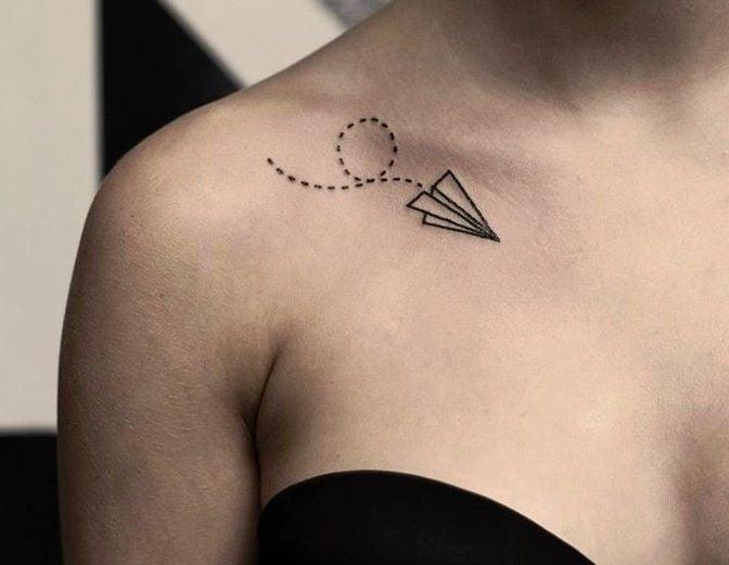 Tatuajes en la clavicula (2)