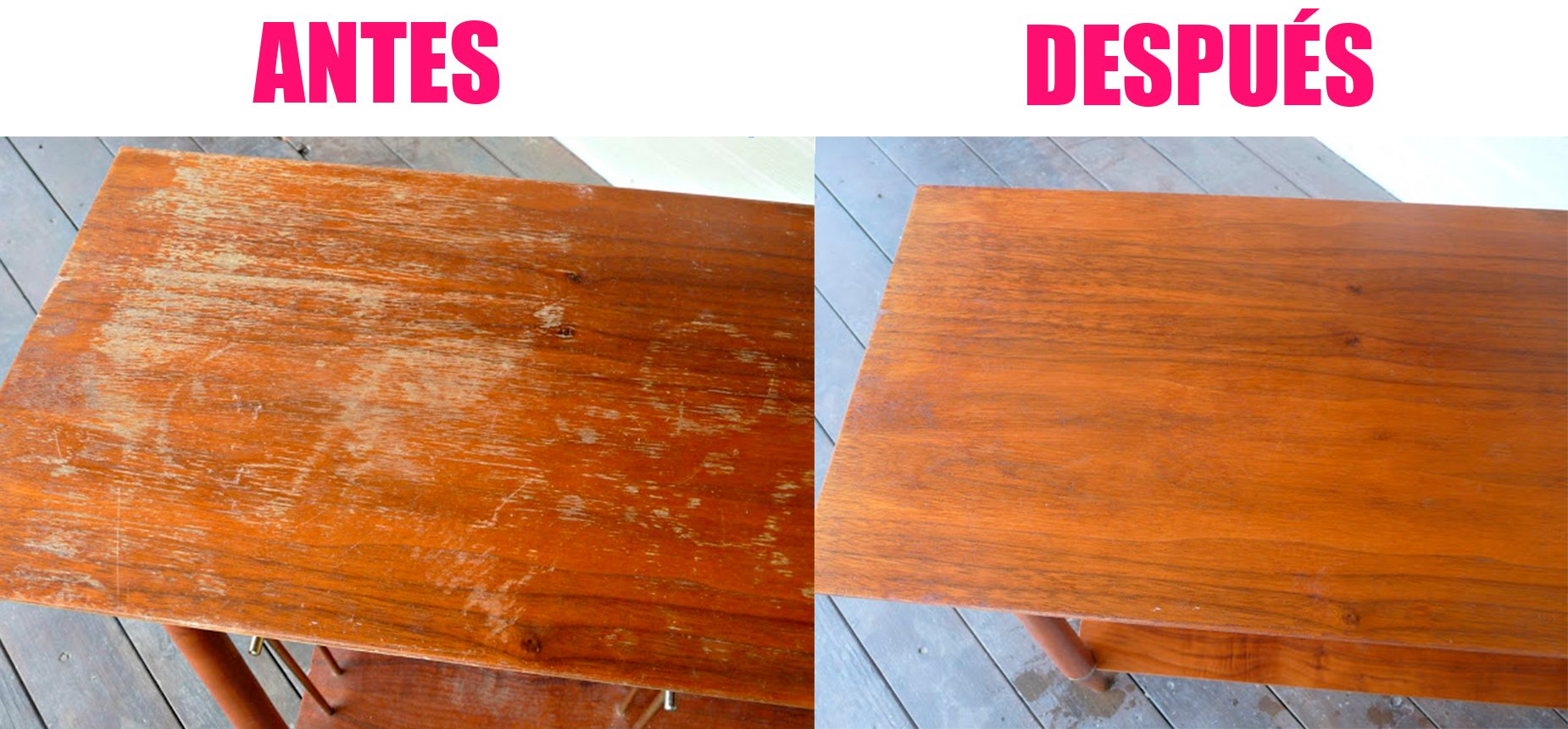 Limpiar muebles madera beautiful un pao seco para - Limpiar muebles de madera ...