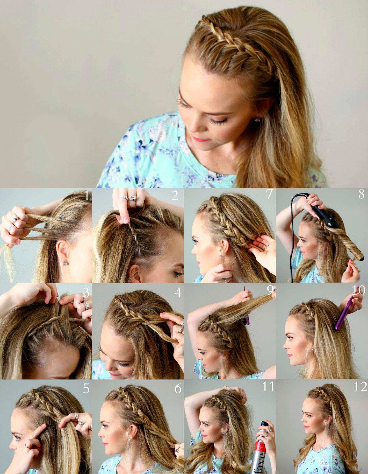 15 Tipos De Peinados Con Trenzas Que Te Encantaran - Peinados-con-tranzas