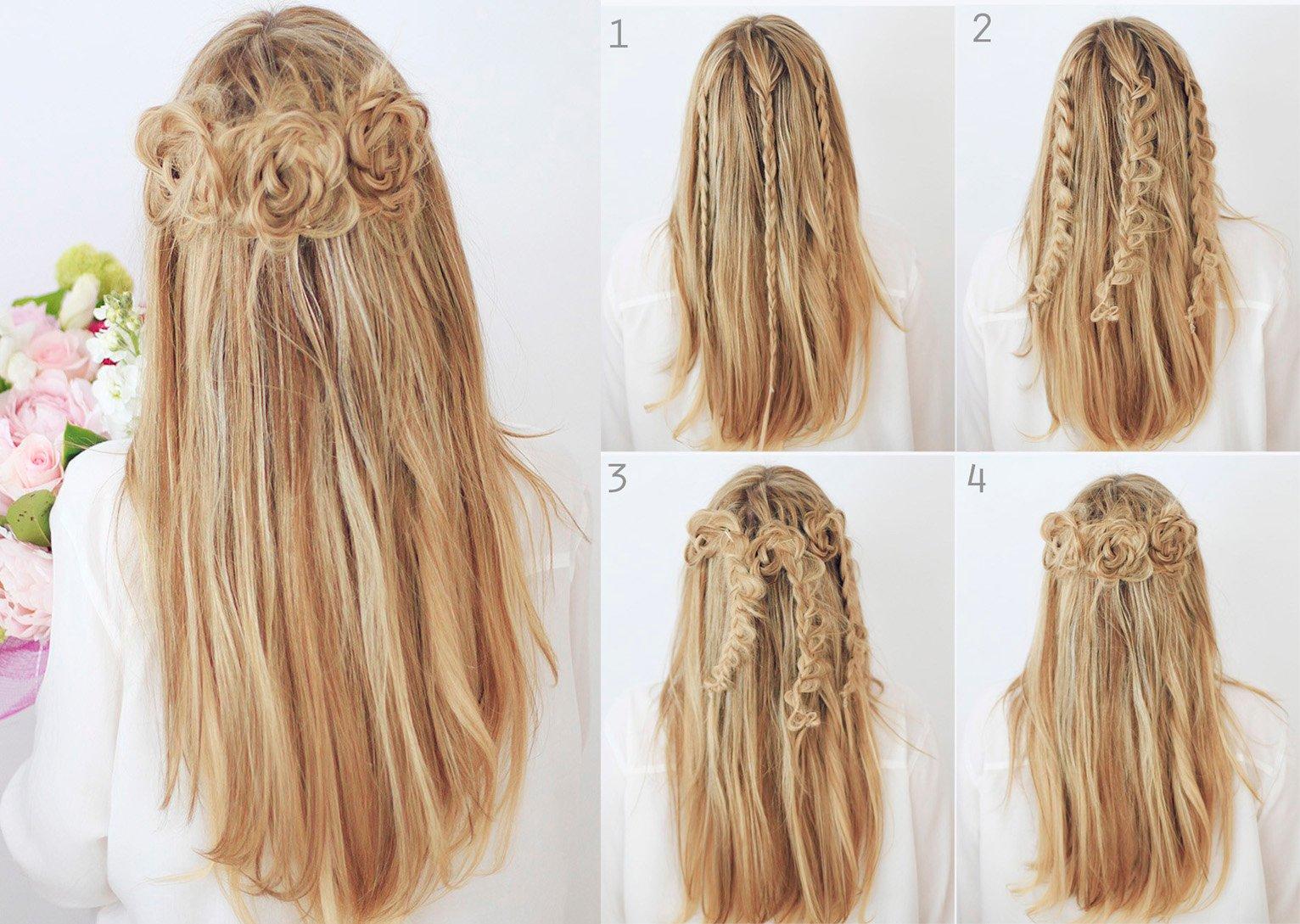 15 tipos de peinados con trenzas que te encantar n - Peinados y trenzas ...