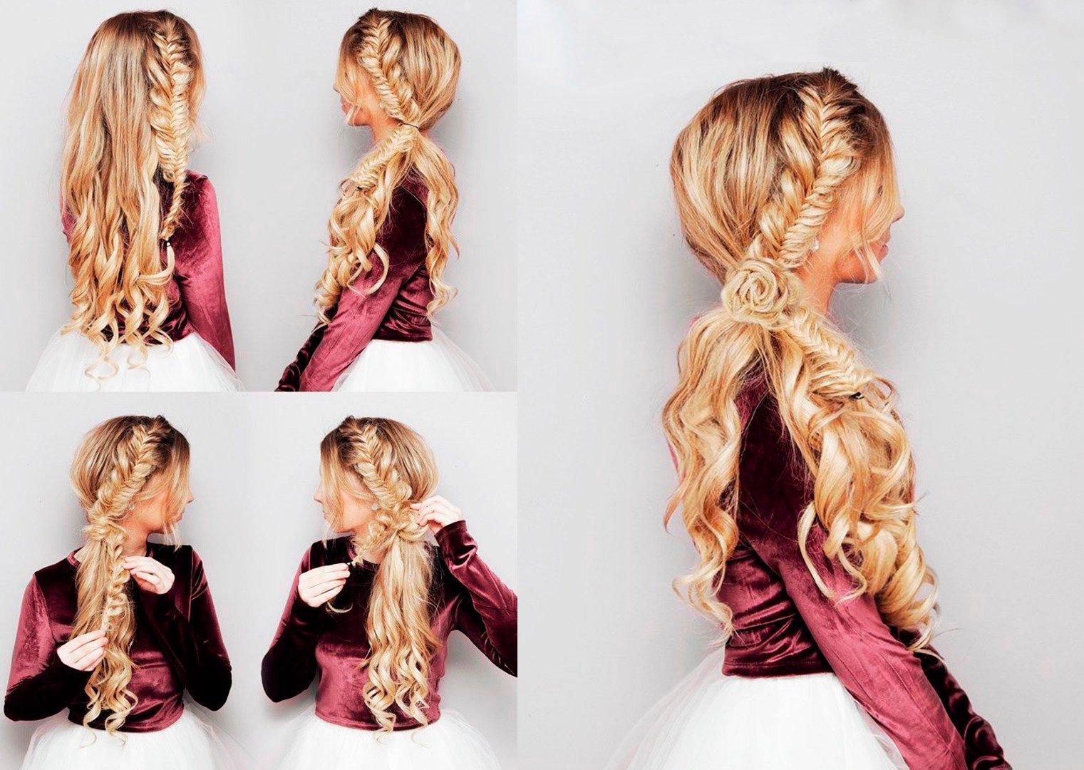 15 tipos de peinados con trenzas que te encantar n - Ideas para peinados faciles ...