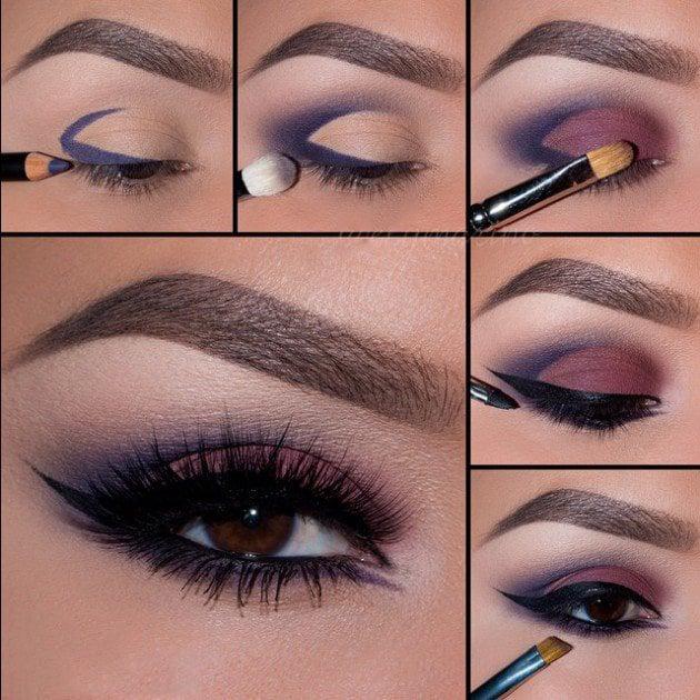 How To Apply Eye Makeup For A Wedding : 20 Tutoriales de maquillaje de noche que te encantaran