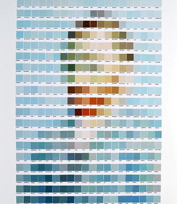 obsesiva del color paleta de colores cuadro van gogh