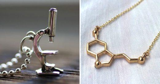 Lindos collares para la científica que llevas dentro