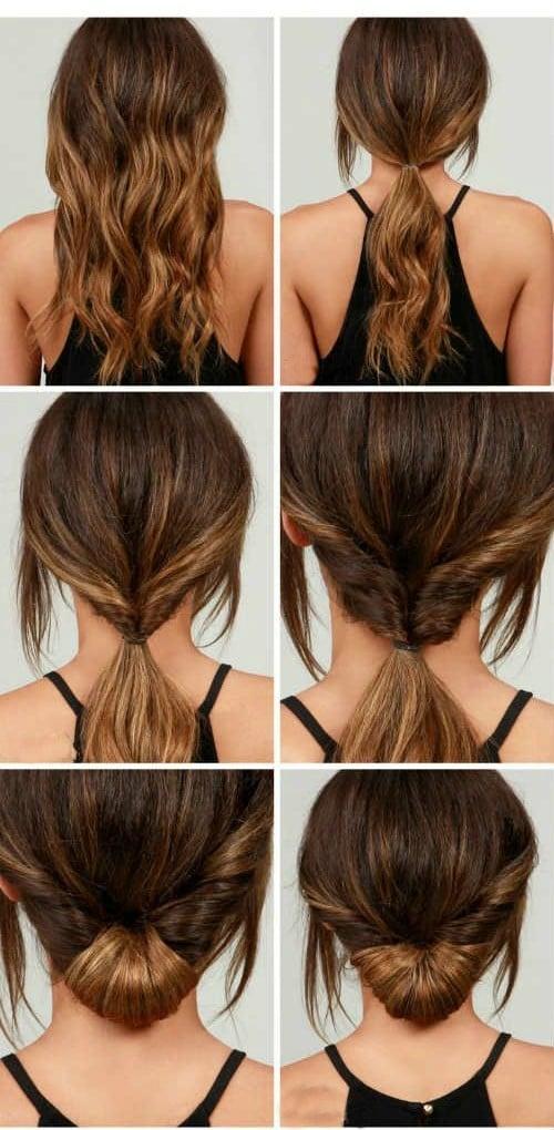 tutorial de peinados rapidos y faciles recogido sencillo