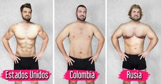 Estandar ideal de belleza masculina de 19 países