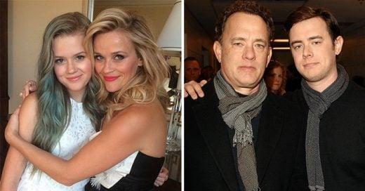 30 famosos y sus hijos que son idénticos a sus padres