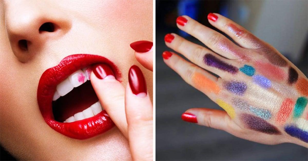 fotos que solo entienden las que se maquillan