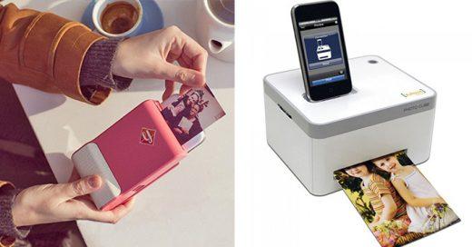 Gadgets para imprimir fotos desde el smartphone