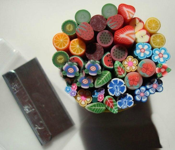 gomas 3d para diseño de uñas
