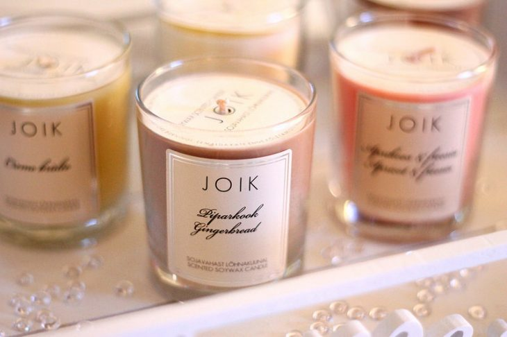 velas aromaticaas para decorar la casa