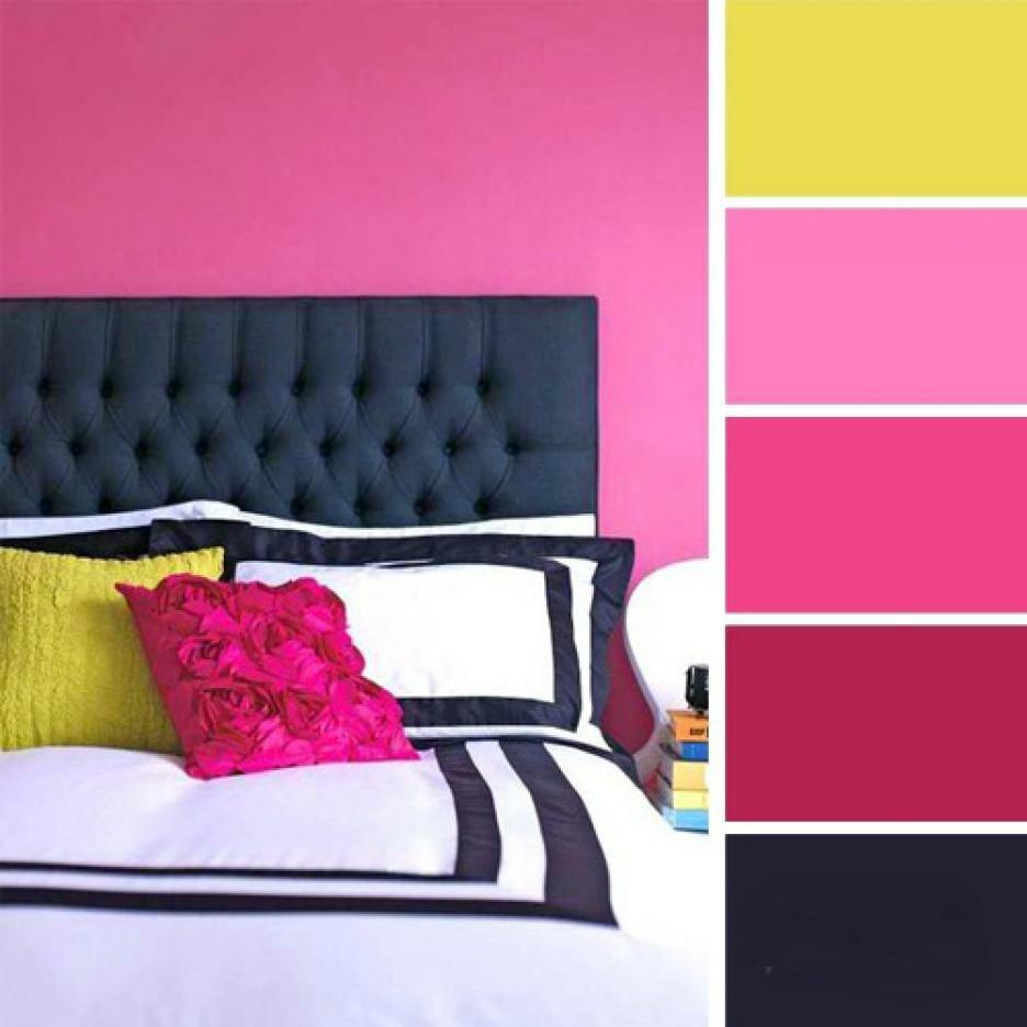15 ideas de combinaciones de colores para tu dormitorio for Combinacion de color rosa