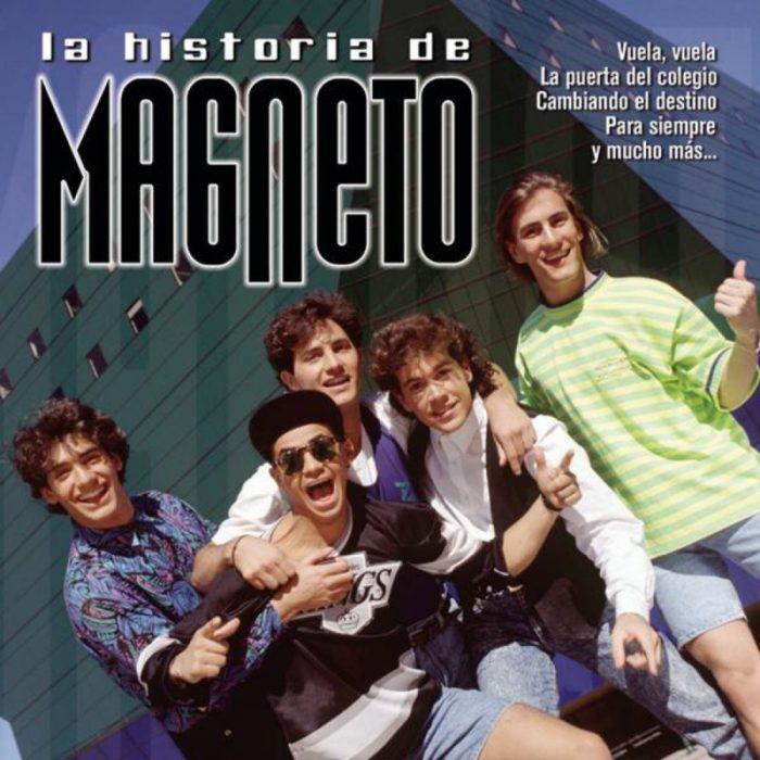portada de disco magneto historia