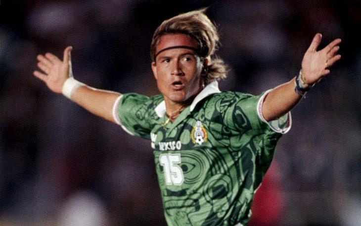 Luis hernandez el matador futbolista mexicano 1995 seleccion