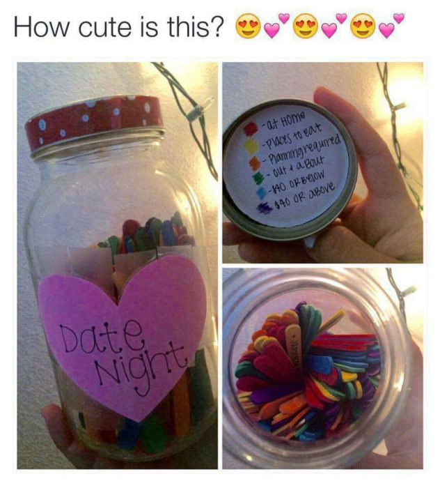 detalle romantico para citas con tu novia