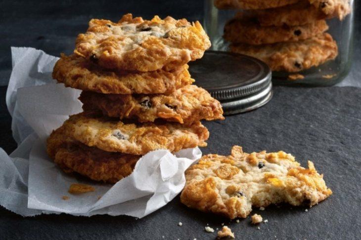 galletas de avena reposteria mason jar