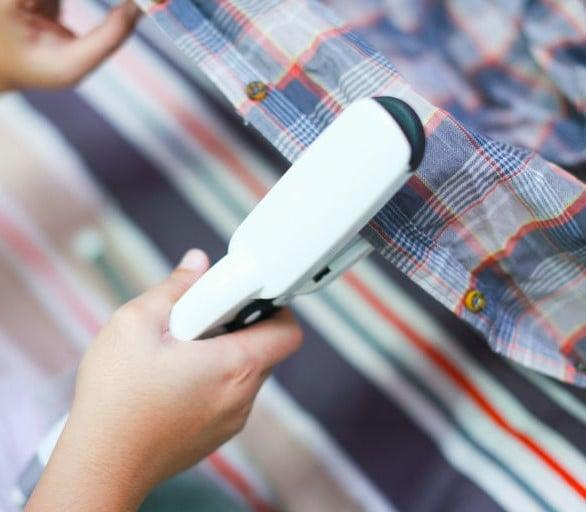 plancha de cabello para planchar camisas