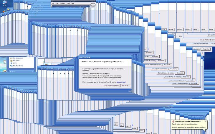 momento molesto cuando internet explorer se traba congelado