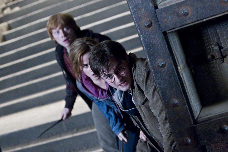 escena las reliquias de la muerte harry ron hermione