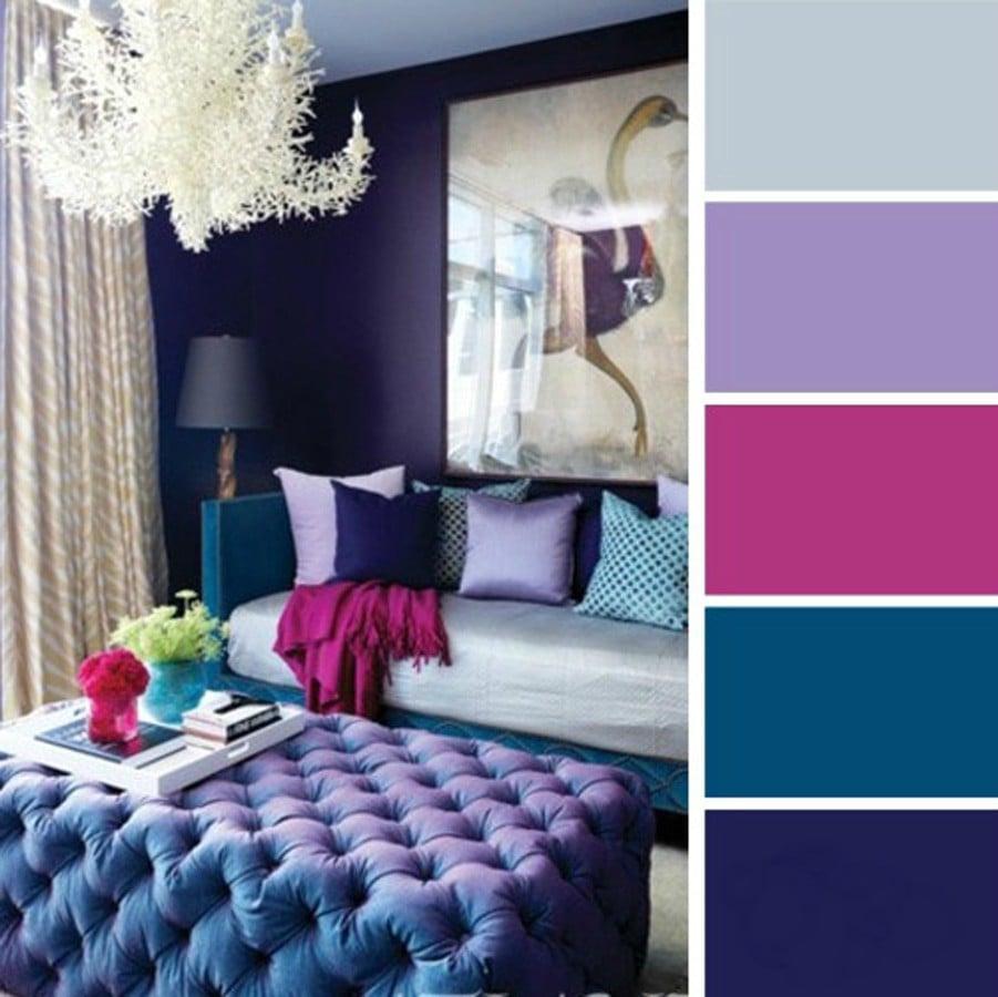 15 ideas de combinaciones de colores para tu dormitorio for Colores de cortinas para dormitorio