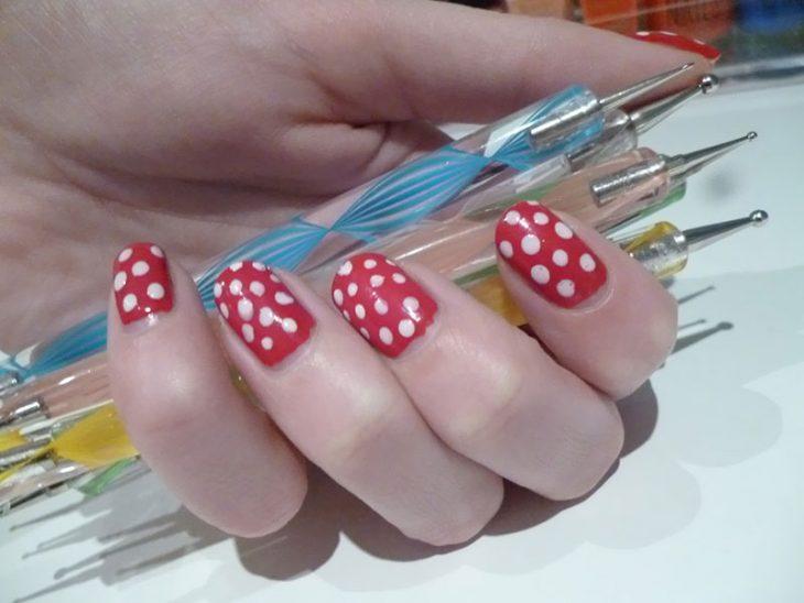 lapices para puntos diseños de uñas