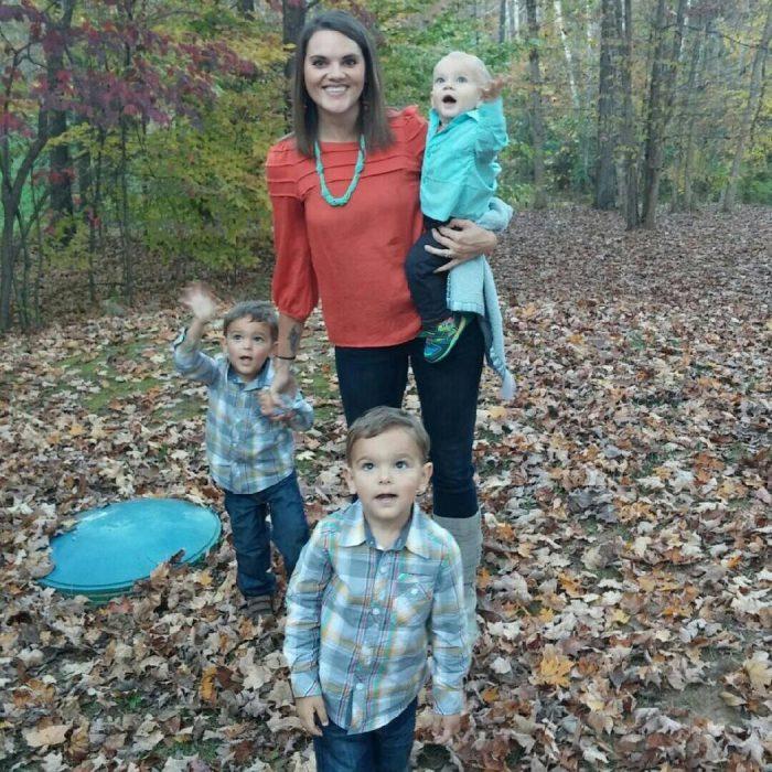 madre soltera rachel boley sus tres hijos