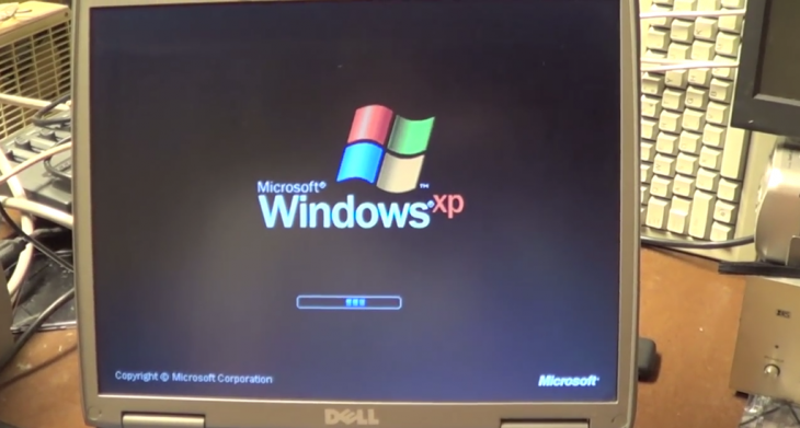 windos xp apagandose manualmente