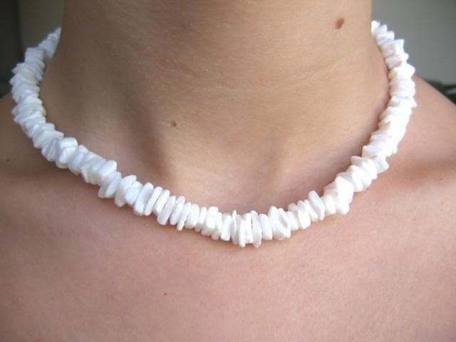 collar de conchas