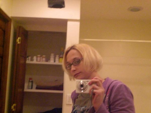 foto de perfil con cámara normal